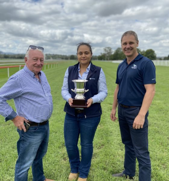 Malabar help Muswellbrook Race Club put the Jerrys Plains Cup back on.
