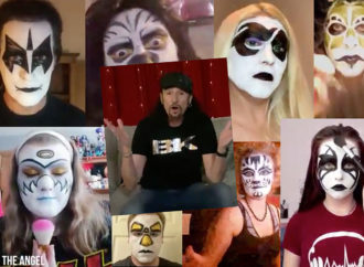 Watch Bruce Kulick Select His Own Kiss Makeup Design
