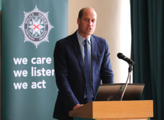 Prince William thanks dedicated 999 heroes for putting their 'lives on the line' in coronavirus pandemic