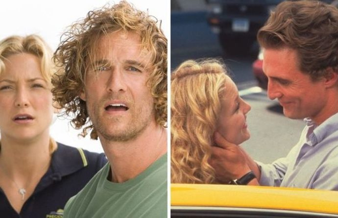 Matthew McConaughey & Kate Hudson: Which films were they in together? 'SNOTTY kisser' | Films | Entertainment