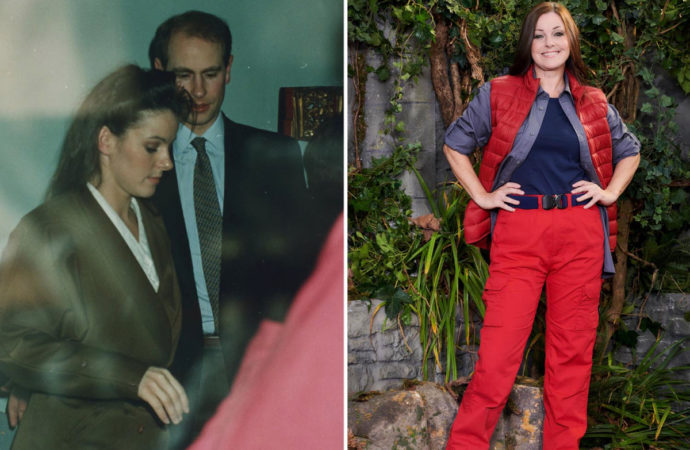 What happened between I'm A Celebrity's Ruthie Henshall and Prince Edward?