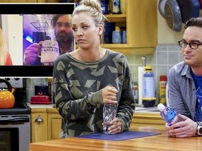 Big Bang Theory's Kaley Cuoco and Johnny Galecki reunite for heartwarming cause