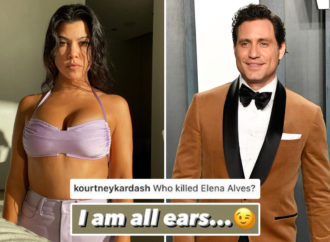 Kourtney Kardashian flirts with The Undoing actor Edgar Ramirez as Scott Disick's romance with Amelia Hamlin heats up