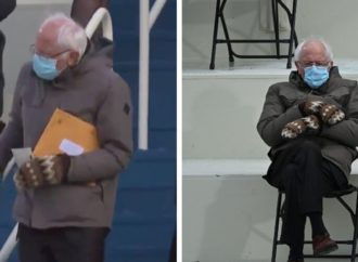 Bernie Sanders' 'Grandpa At The Post Office' Inauguration Outfit Is A Pragmatic Hit