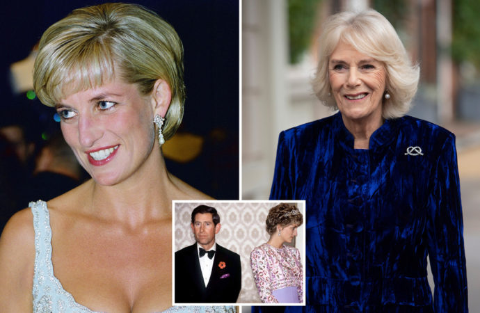 Diana was told to wear a wig to look like Camilla to spice up her sexless marriage with Charles, royal biographer claims