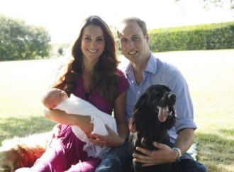 William and Kate 'besotted' with their new puppy after beloved family dog died last year