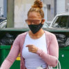 Jennifer Lopez Wears Leggings & Carries White Birkin Bag At The Gym – Hollywood Life