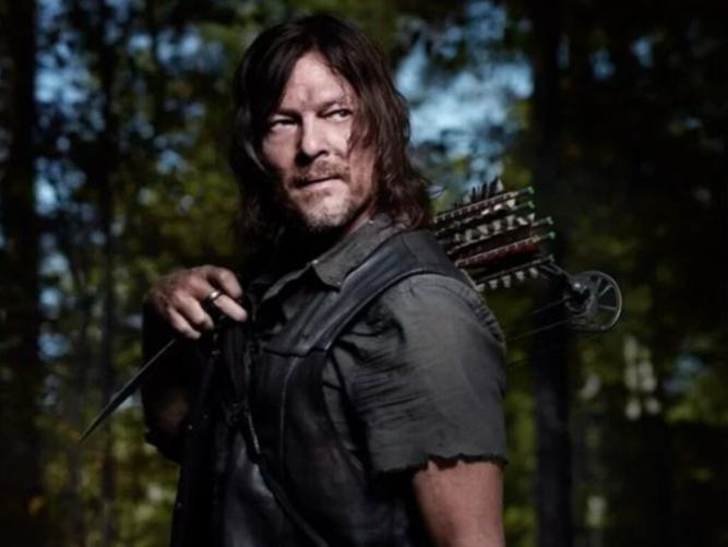 Reedus admits he has become obsessed with The Walking Dead.